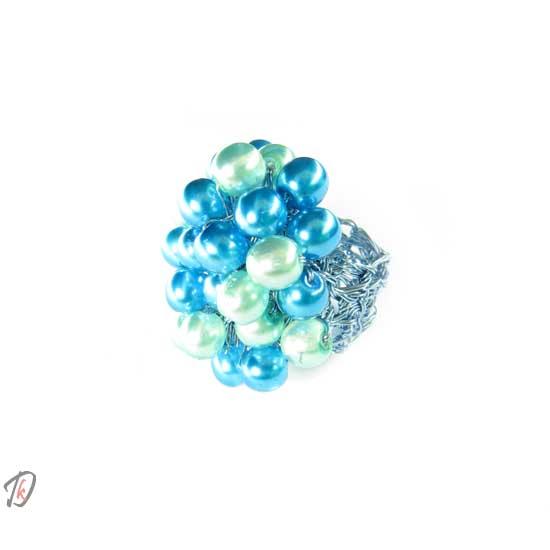 Prstan blue