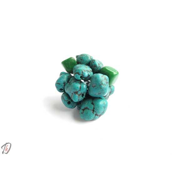 Turquoise brain prstan/ring