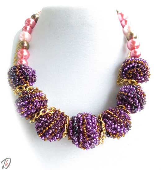 Purple Queen ogrlica/necklace