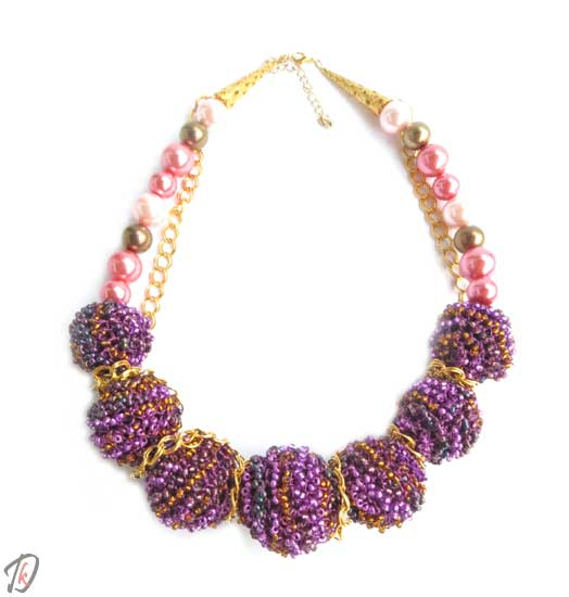 Purple Queen ogrlica/necklace