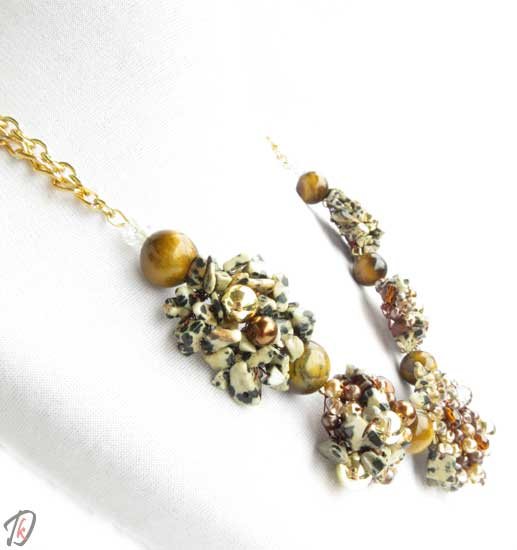 Leopard ogrlica/necklace