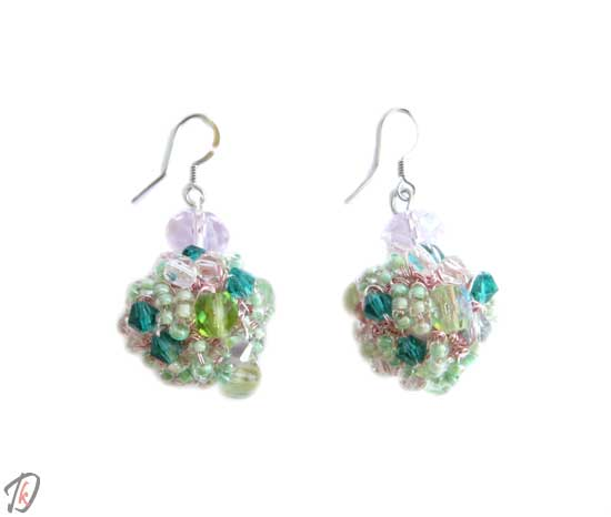 Ice cream uhani/earrings