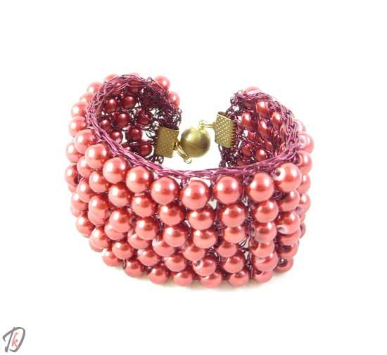 Bordeaux zapestnica/bracelet