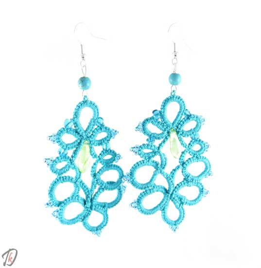 Turquoise princess uhani/earrings