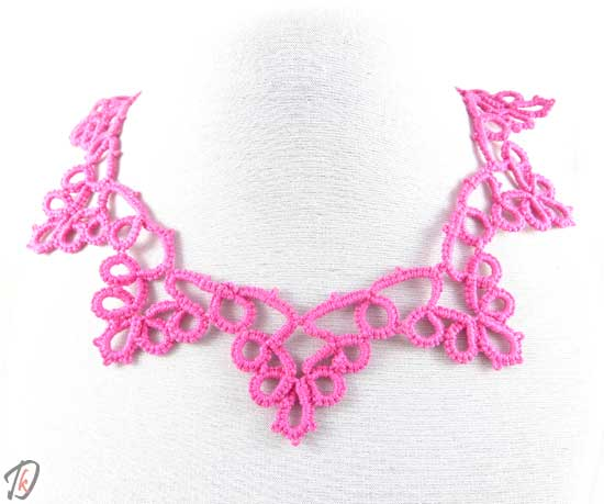 Lace Pink ogrlica/necklace