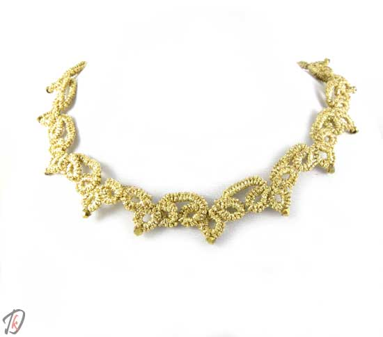Lace Gold ogrlica/necklace