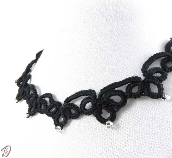 Lace Black ogrlica/necklace