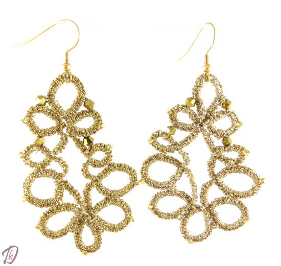 Lace Gold uhani/earrings