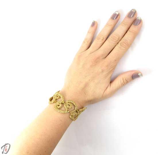 Lace Gold zapestnica/bracelet