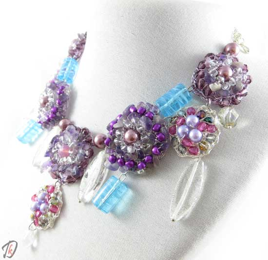 Ametist ogrlica/necklace