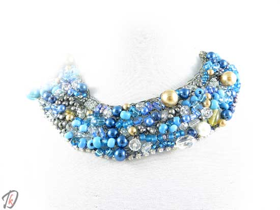 Blue Queen necklace/ogrlica