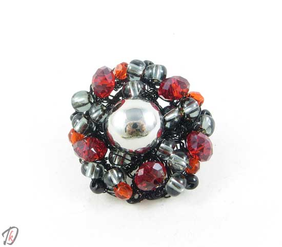 Black cherry ring/prstan
