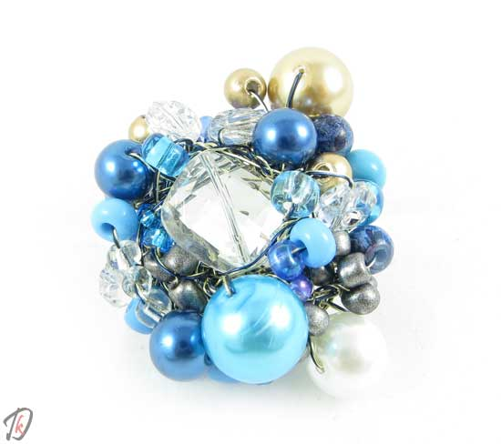 Blue queen ring/prstan