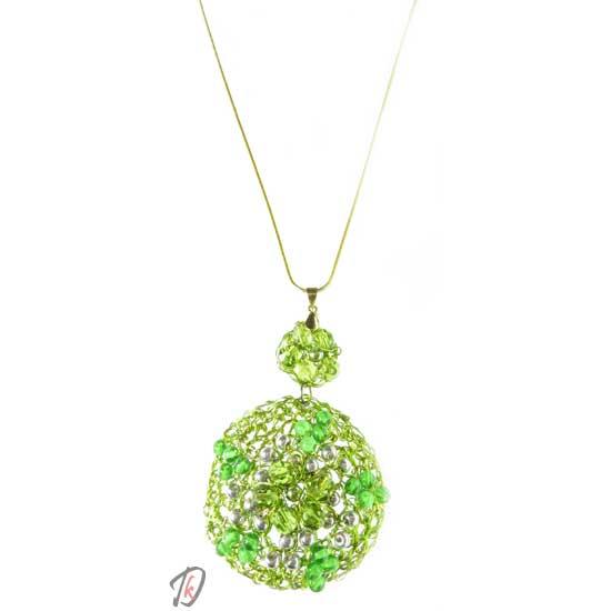 Ogrlica zelena