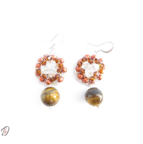 Onyx uhani/earrings