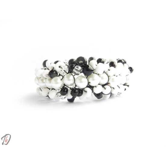 Black & White zapestnica/bracelet