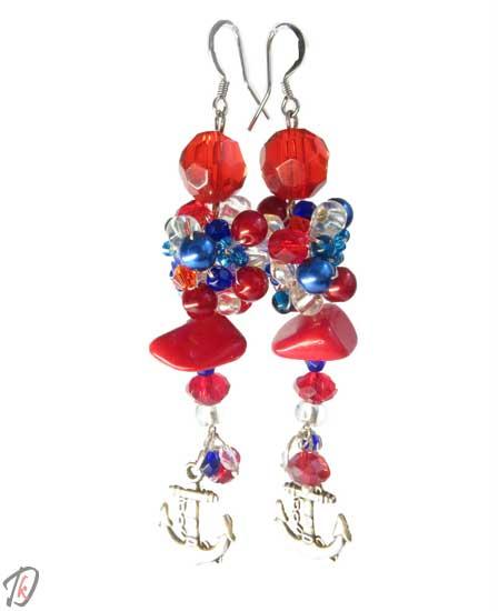 Sailor uhani/earrings