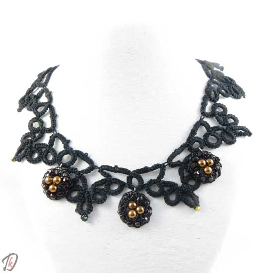 Lace stylish ogrlica/necklace