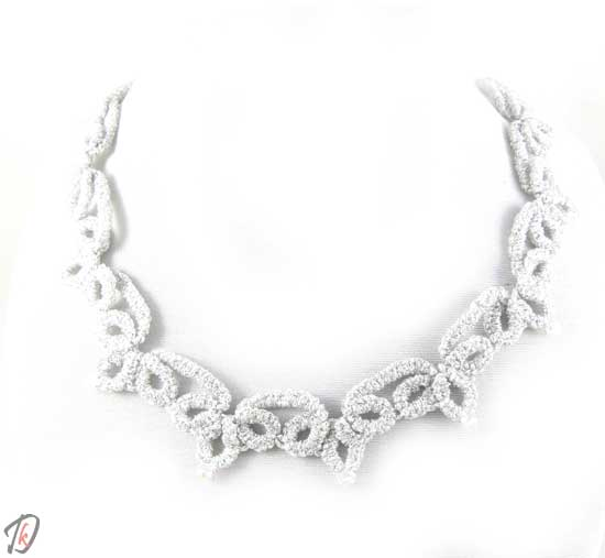 Lace Silver ogrlica/necklace