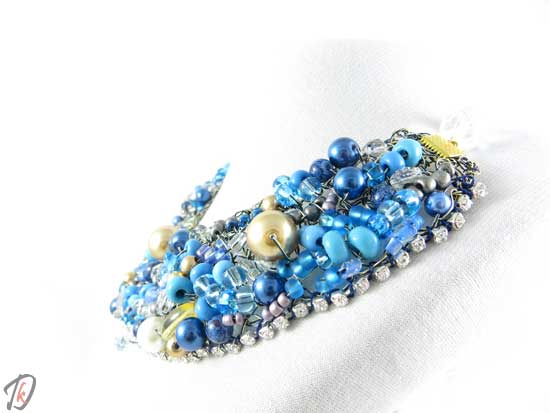Blue Queen necklace/ogrlica
