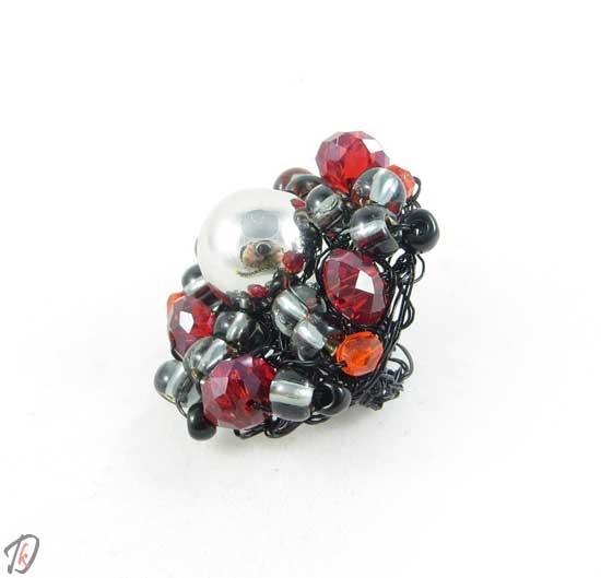 Black cherry ring/prstan
